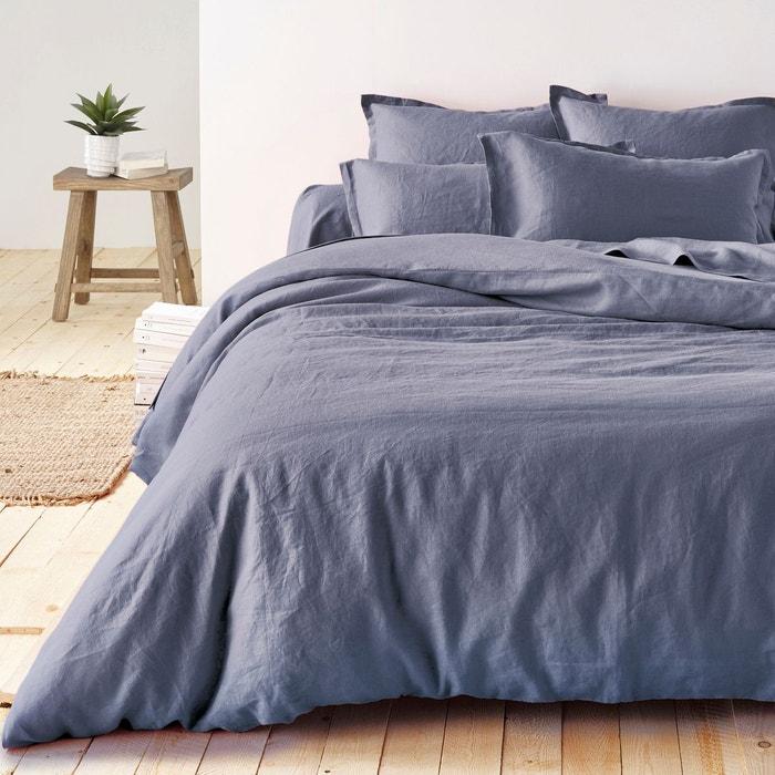 housse de couette en pur lin lave la redoute interieurs la redoute. Black Bedroom Furniture Sets. Home Design Ideas