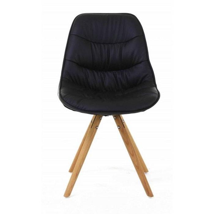 Chaise repas design lotus lot de 2 jardindeco la redoute - Chaise de bar la redoute ...