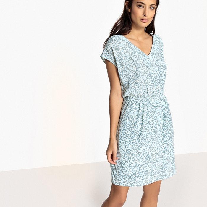 Short-Sleeved Mini Shift Dress  SUD EXPRESS image 0