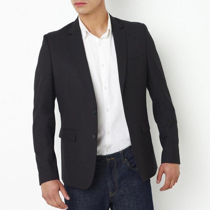 Veste de costume coupe droite La Redoute Collections
