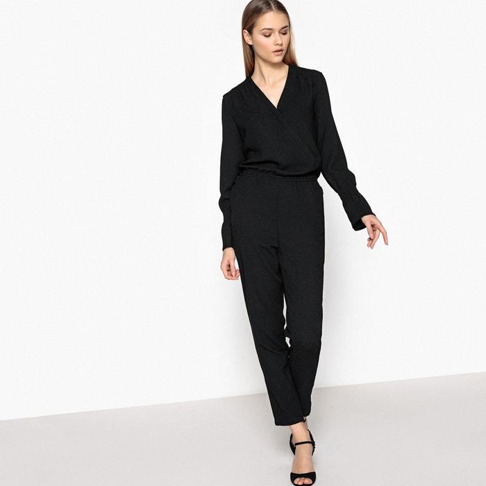 combinaison pantalon la redoute collections noir la redoute. Black Bedroom Furniture Sets. Home Design Ideas