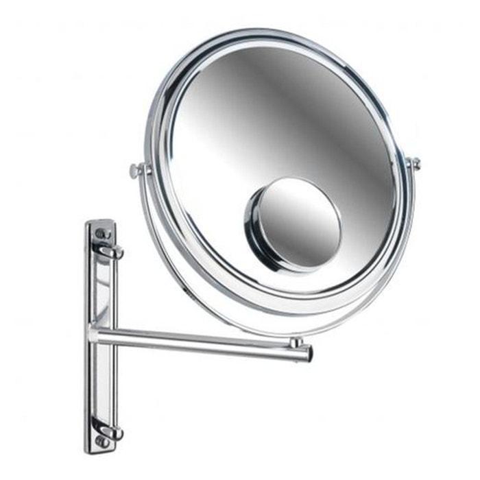 Miroir Grossissant Salle De Bain miroir grossissant salle de bain bivona argent wenko | la redoute
