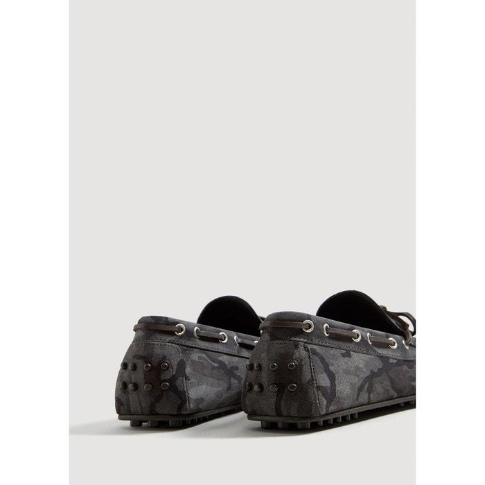 aeb57068a ... Mango Camouflage Shoes Man Leather Driver You Cro qqg6U ...