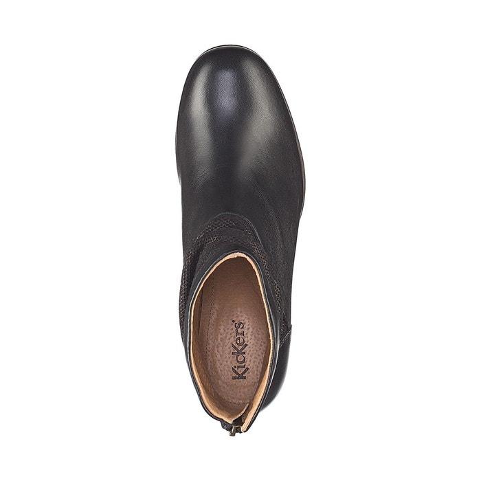 Boots cuir seety Kickers