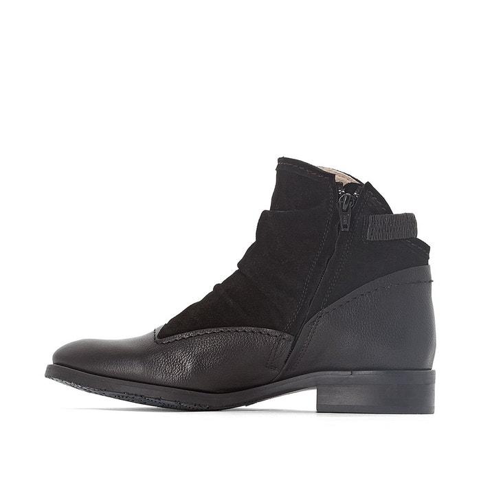 Boots cuir hyria Dkode