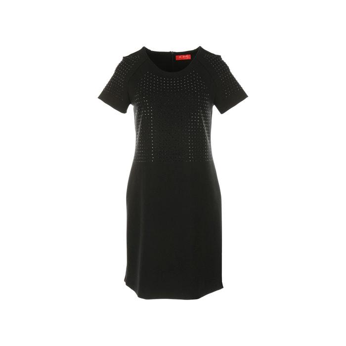 Short-Sleeved Dress with Rhinestones  RENE DERHY image 0