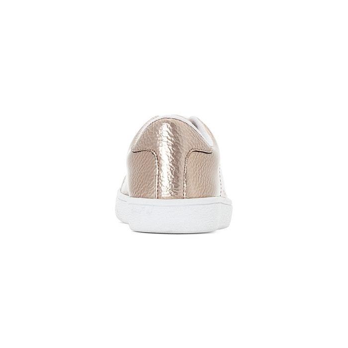 Baskets cuivre craquelées argent La Redoute Collections