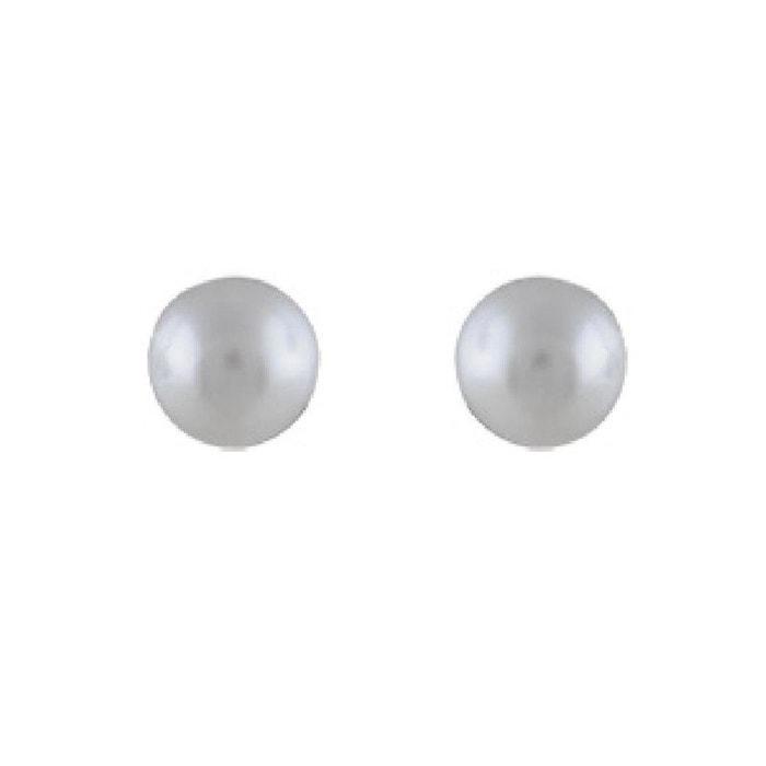 Boucle d'oreilles femme perle
