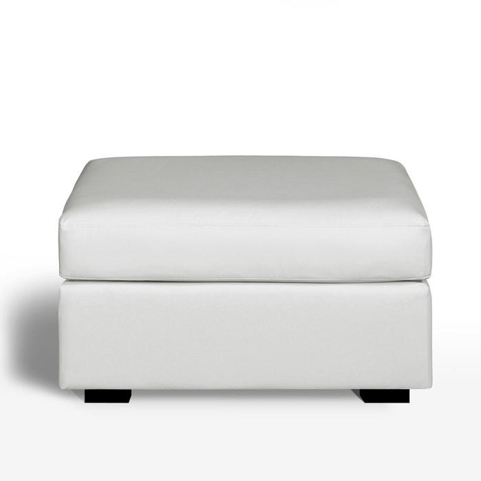 Image Pouf, confort supérieur, cuir, Robin La Redoute Interieurs