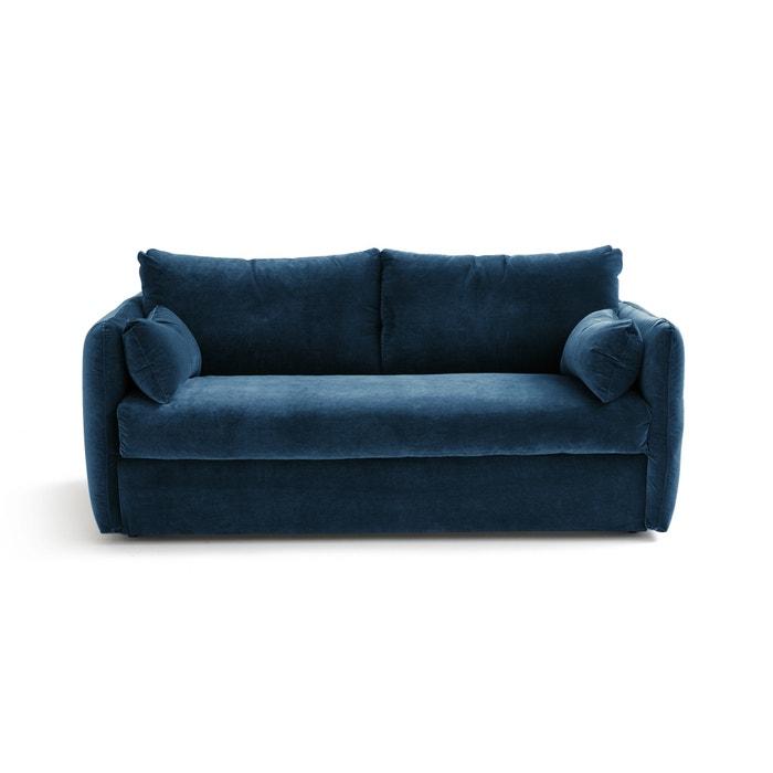 canap convertible en velours picure am pm la redoute. Black Bedroom Furniture Sets. Home Design Ideas