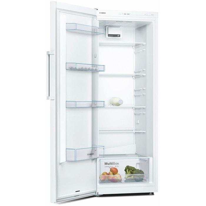 refrigerateur armoire ksv29nw3p bosch la redoute. Black Bedroom Furniture Sets. Home Design Ideas