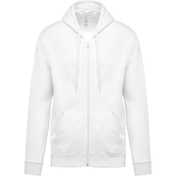 Sweat-shirt zippé capuche Kariban  0c97755534a