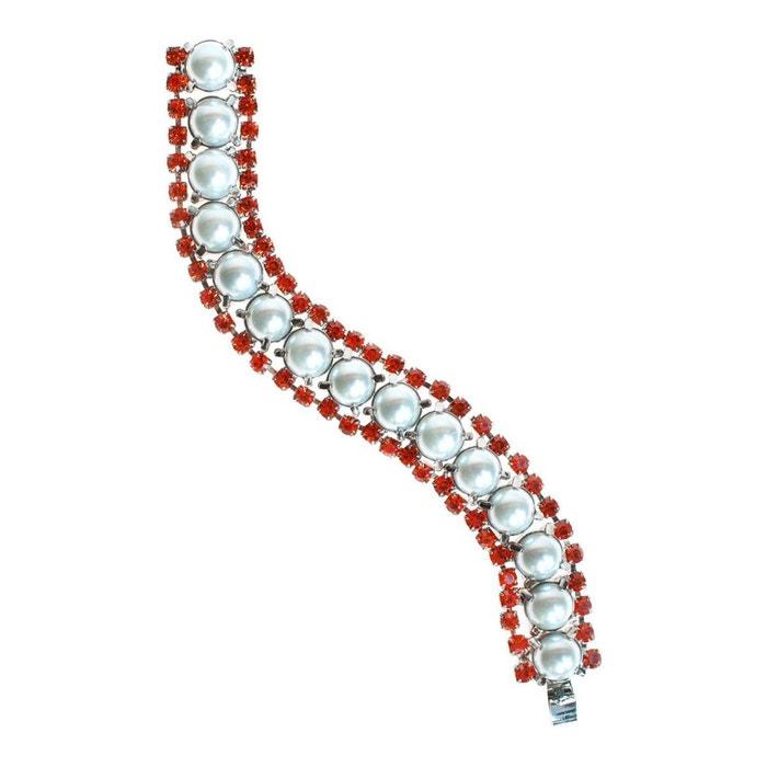 Bracelet olivia orange orange Reine Rosalie | La Redoute À Vendre Footlocker Prix Incroyable Rabais Boutique En Ligne Pas Cher CYsyEhE