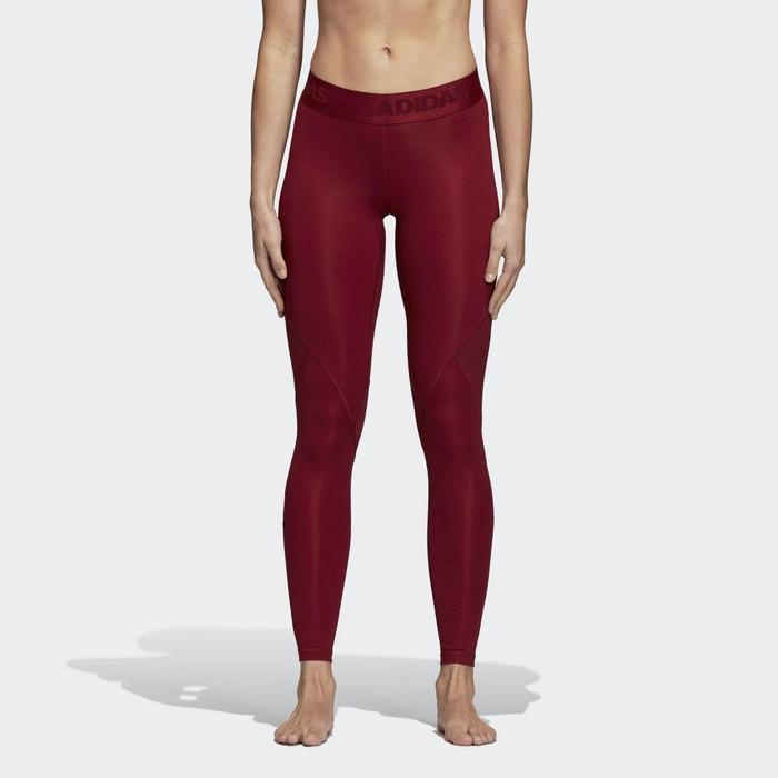 Legging alphaskin sport rouge Adidas Performance  f08fbc64dc1