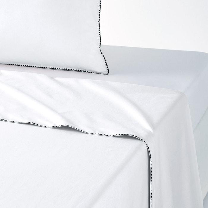 Drap percale coton lav e bourdon adrio la redoute - La redoute linge de lit ...