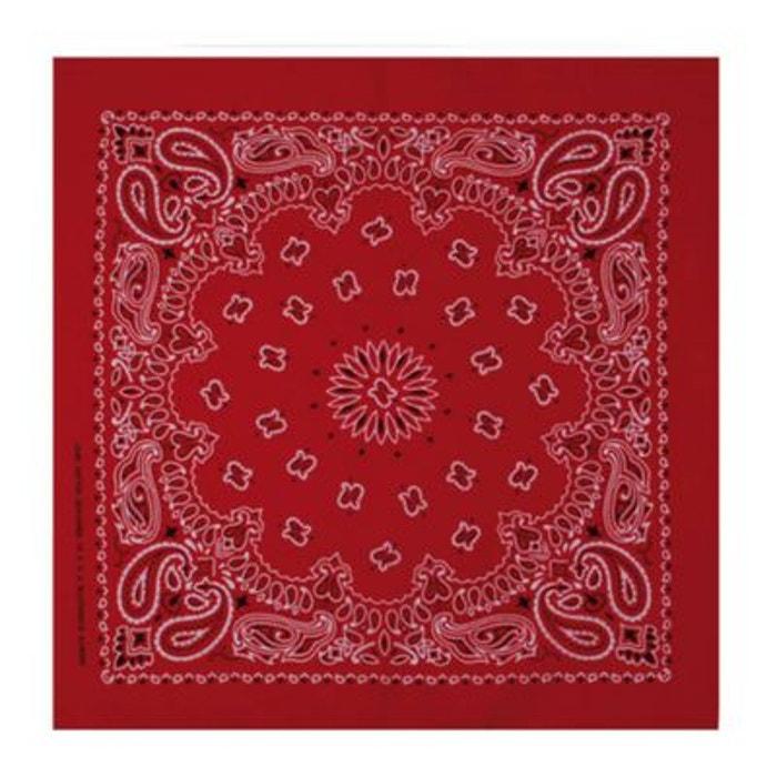 Bandana Rouge MASTERDIS Paisley 50x50 cm Foulard MASTERDIS