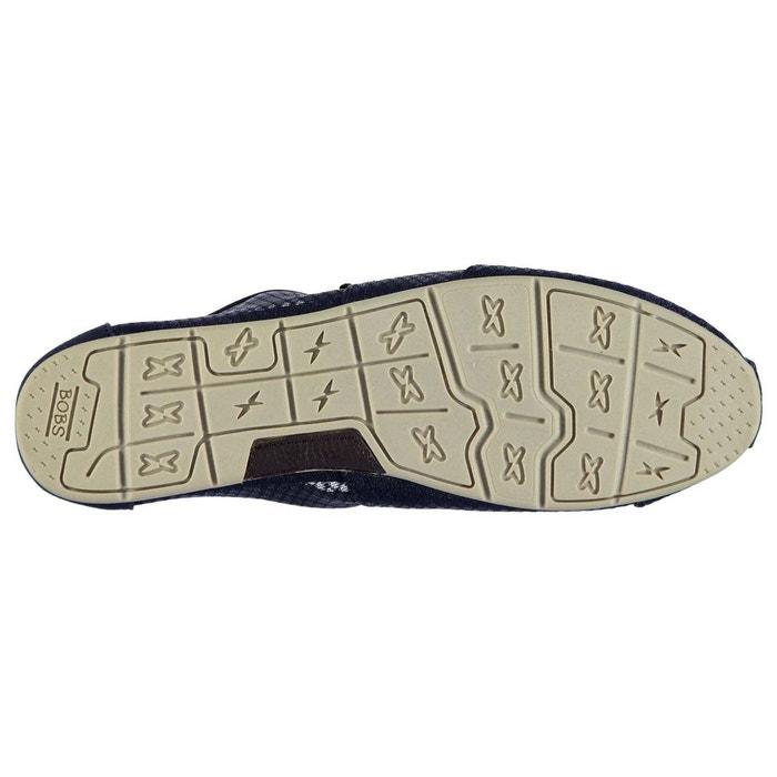 Chaussures en toile respirant bleu marine Skechers