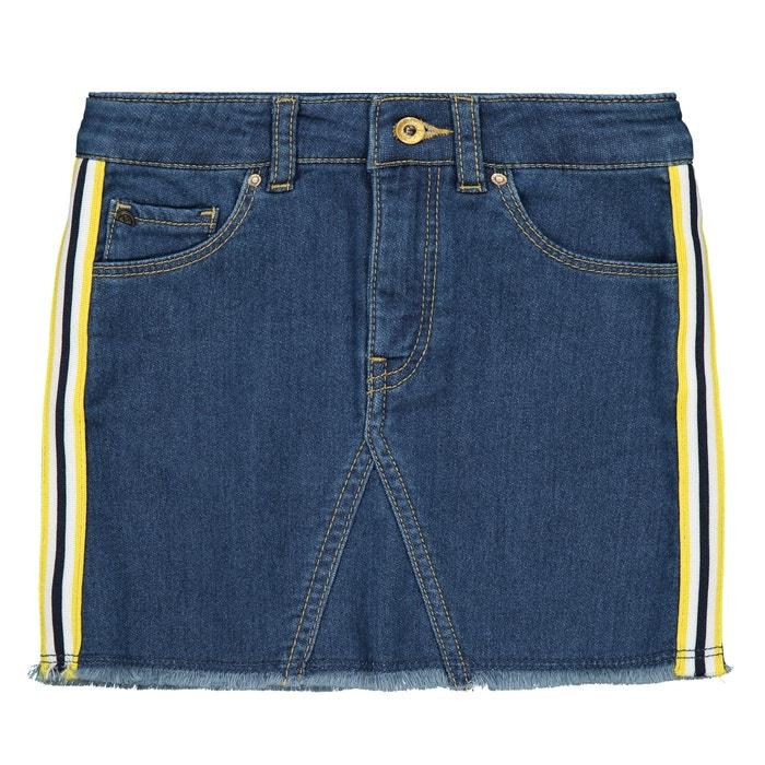 ed135893587174 Rechte rok in jeans 4-14 jr jeansblauw Ikks Junior