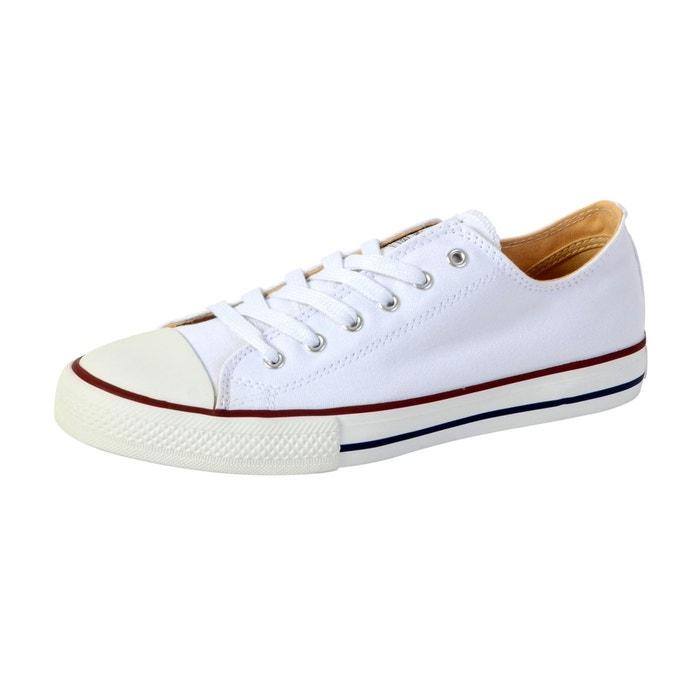 Baskets zapato basket autoclave blanc Victoria