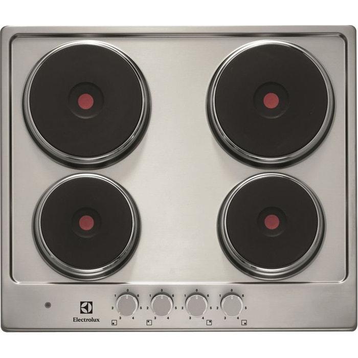 electrolux table de cuisson electrique ehs6940hox inox. Black Bedroom Furniture Sets. Home Design Ideas