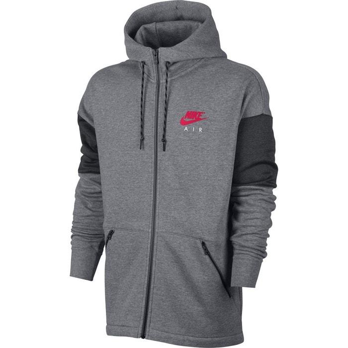 Veste nsw hoodie air gris Nike   La Redoute b8a47d8bb0b4