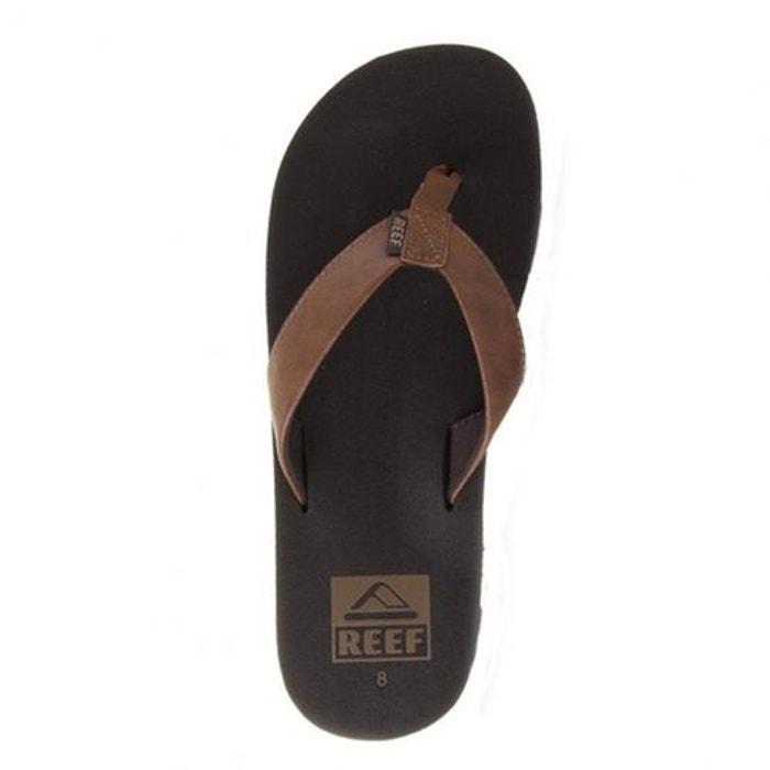 Vegan e16 Tongs Twinpin Brown Leather REEF vw8x7EqAE