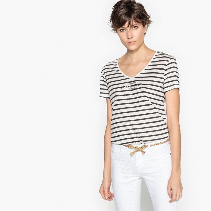 Image T-shirt scollo a V, maniche corte KAPORAL 5