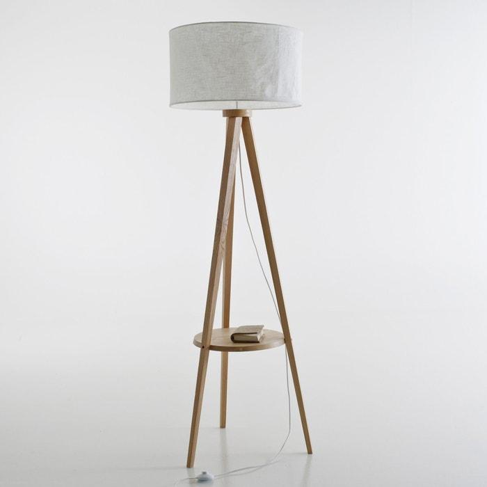 lampadaire tr pied fr ne et abat jour lin setto la redoute interieurs naturel la redoute. Black Bedroom Furniture Sets. Home Design Ideas