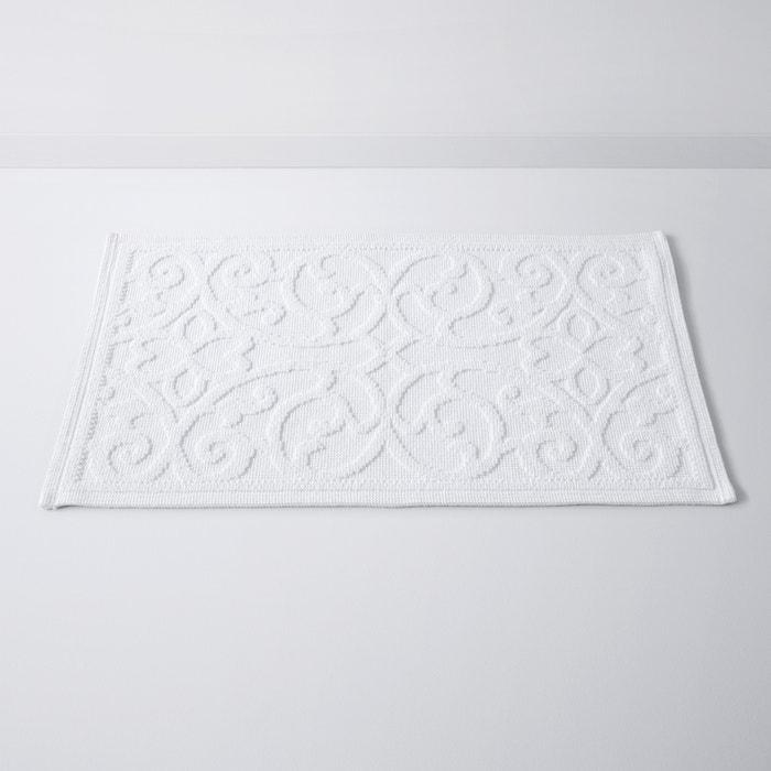 Tapis de bain damask motif en relief coton 1500g m la redoute interieur - Tapis de bain la redoute ...