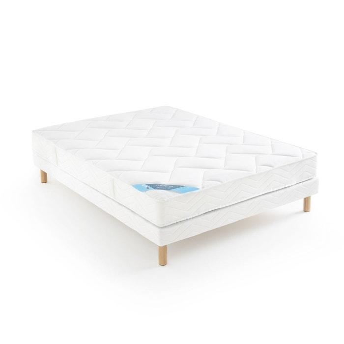 matelas mousse hr grand confort tr s ferme 5 zones blanc reverie la redoute. Black Bedroom Furniture Sets. Home Design Ideas