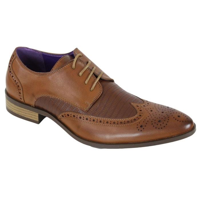 Chaussures elo521 marron Kebello
