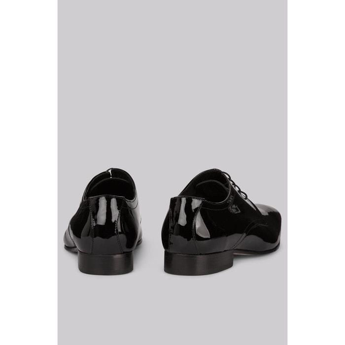 Chaussures habillées cuir verni noir Moss 1851
