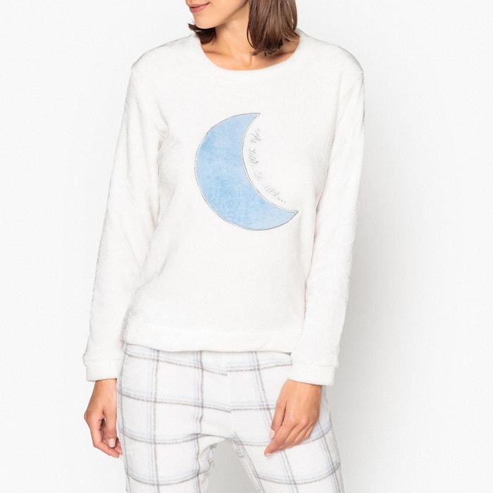 b7bdf803692 Pyjama met lange mouwen in twee stoffen Rêve