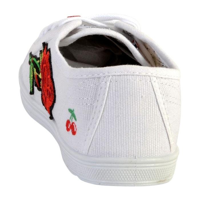 Basket basic 02 blanc Le Temps Des Cerises