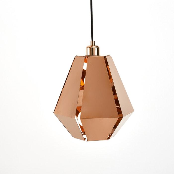 suspension origami cuivre takoi la redoute interieurs cuivre la redoute. Black Bedroom Furniture Sets. Home Design Ideas