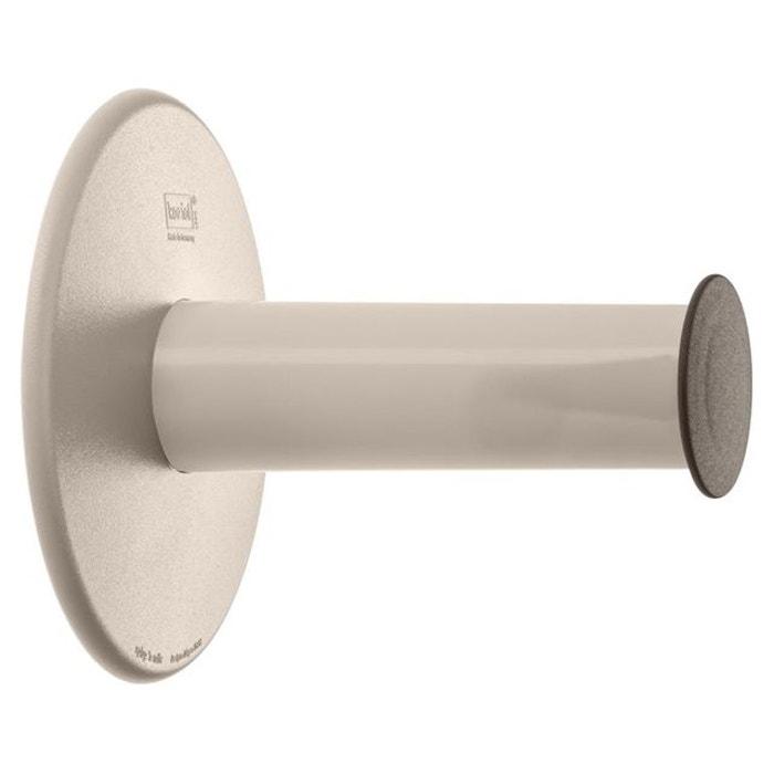 support rouleaux de papier toilette koziol plug 39 n roll beige koziol la redoute. Black Bedroom Furniture Sets. Home Design Ideas