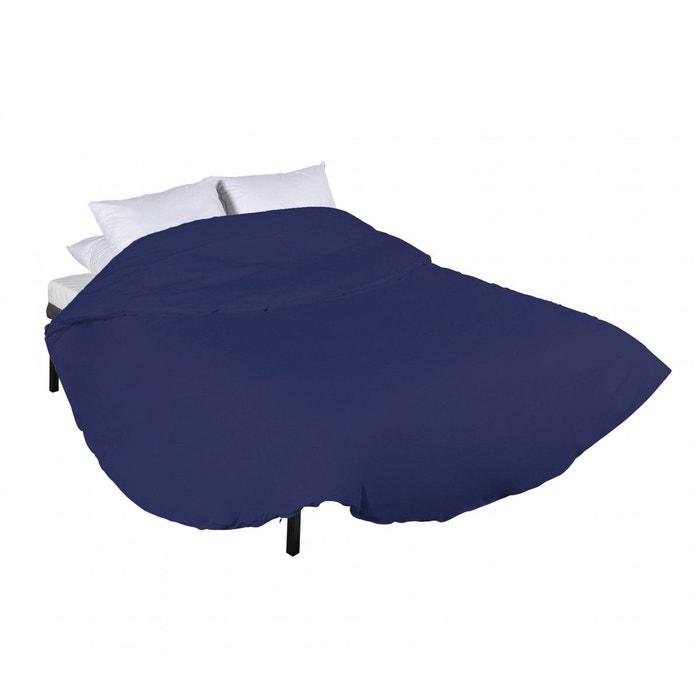 Housse De Couette Ronde 100 Coton Marine Bleu Marine Terre De Nuit