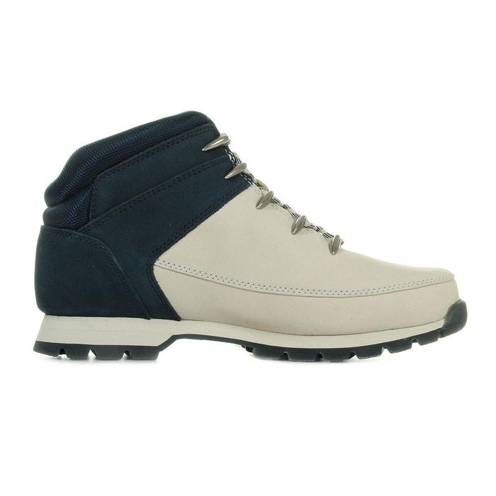 Boots homme euro sprint hiker gris/bleu marine Timberland