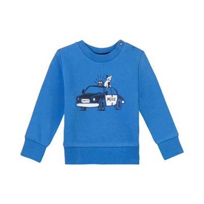 213af84b35eedc Sanetta sweat-shirt voiture de police t-shirt bébé vêtements bébé bleu  Sanetta | La Redoute