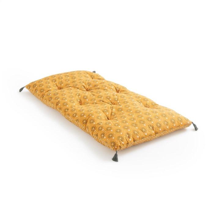 matelas de sol lonie imprim fond ocre la redoute interieurs la redoute. Black Bedroom Furniture Sets. Home Design Ideas