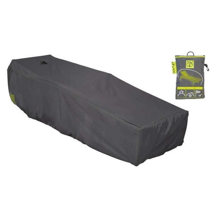 housse de transat et bain de soleil 200 x 75 cm gris oviala la redoute. Black Bedroom Furniture Sets. Home Design Ideas
