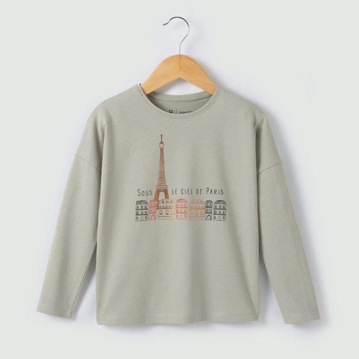 Image T-shirt ''Tour Eiffel'' coton bio 3-12 ans R essentiel