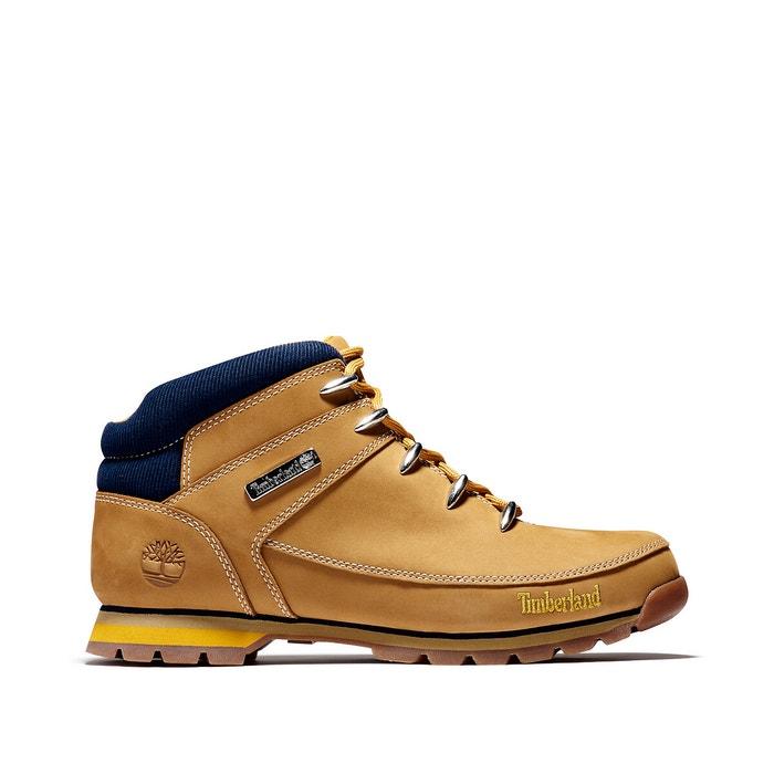 Impuro Jardines prima  Euro sprint hiker leather ankle boots honey Timberland | La Redoute