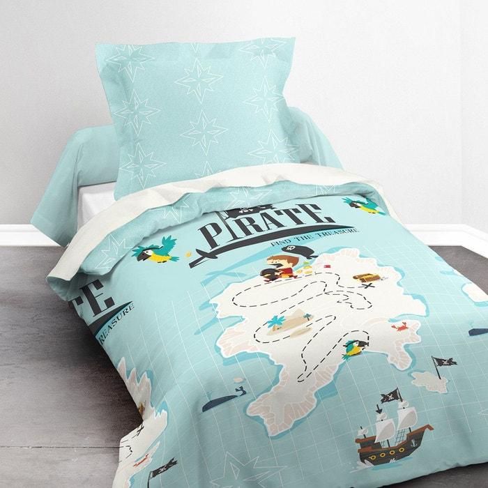 Parure de lit enfant karaibe lot housse de couette taie d 39 oreiller clas - La redoute couette enfant ...