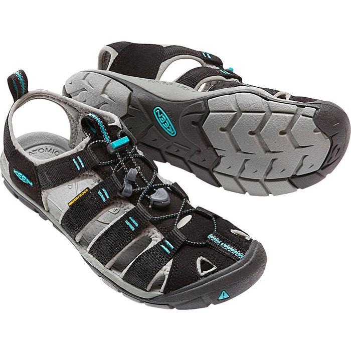 Clearwater cnx - sandales femme - noir noir Keen