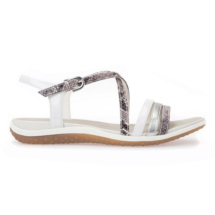 Sandales d sand.vega c  gris/blanc Geox  La Redoute