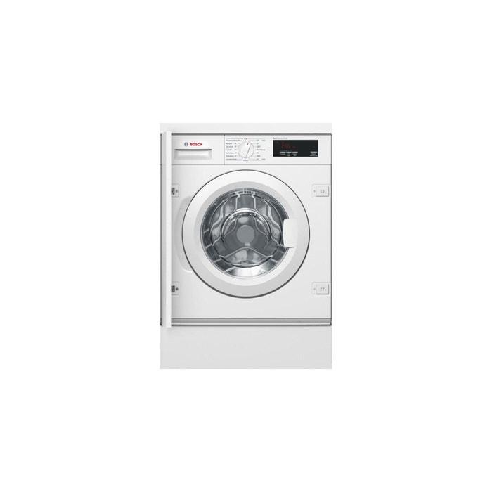 machine laver hublot frontal 7kg blanc bosch la redoute. Black Bedroom Furniture Sets. Home Design Ideas