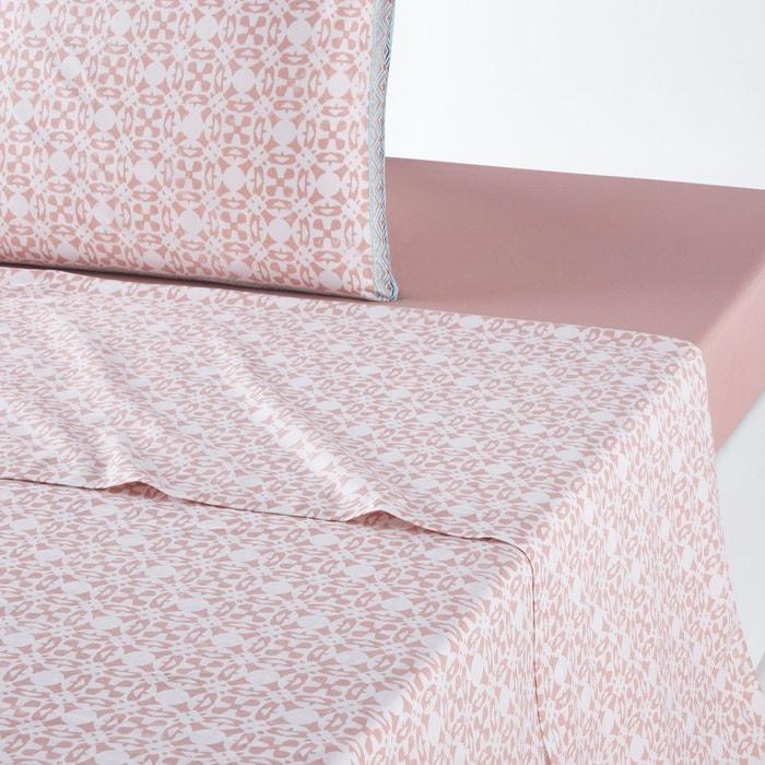 drap plat yucatan imprim nude la redoute interieurs la redoute. Black Bedroom Furniture Sets. Home Design Ideas