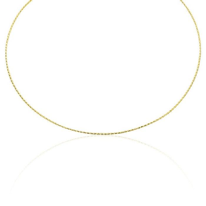 Prix Amazon Pas Cher Collier or jaune maille effet tresse jaune Histoire D'or | La Redoute Jeu Best-seller zv4f3Vj5V