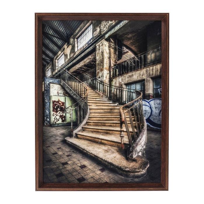 tableau frame old staircase 80x60cm kare design multicolore kare design la redoute. Black Bedroom Furniture Sets. Home Design Ideas